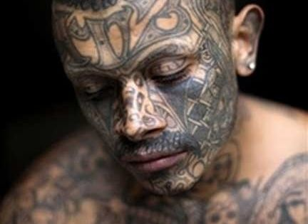 The 20 Most Outrageous Facial Tattoos | Salvador, El ...