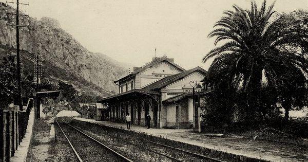 Gare De Menton Garavan 06 Trains Ville France Gare