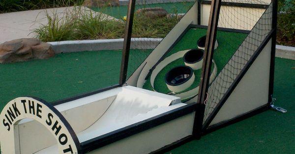 Custom Skee Ball Mini Golf Obstacle