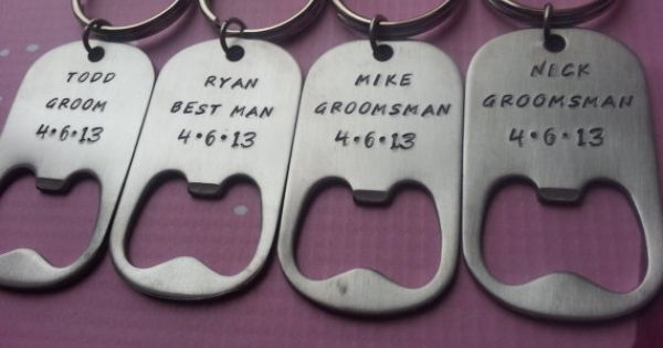 groomsman personalized bottle opener keychain groomsmen groomsman gift groomsman present. Black Bedroom Furniture Sets. Home Design Ideas