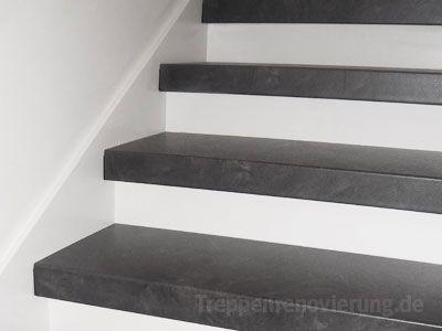 beispiele zur treppenrenovierung. einfach alte treppen neu belegt,