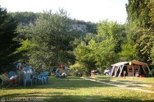 Kampeerterrein Camping Kamperen Zwemvijvers