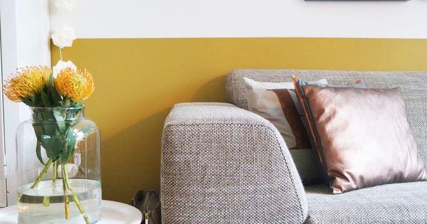 Okergoud in huis bij stijl habitat okergoud ochregold colour of 2016 kleur van 2016 flexa - Interieurontwerp thuis kleur ...