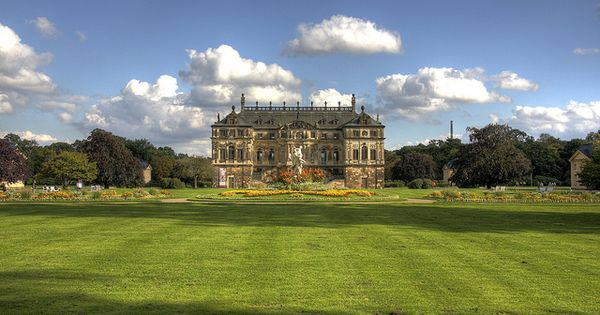 Palais In The Grosser Garten Dresden Saxony Germany Germany Grand Homes Places To See