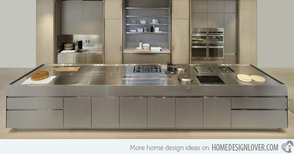 16 Metal Kitchen Cabinet Ideas Home Design Lover Metal Kitchen Cabinets Kitchen Remodel Kitchen Design