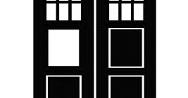 Tardis silhouette   Cameo, Make-the-Cut files, SVGs, and ...