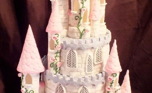 Fairytale Castle Cake - Cake by Mother and Me Creative Cakes