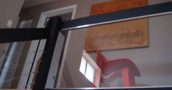 DIY: How To Install A Glass Or Plexiglass Railing In Your Home For A Clean