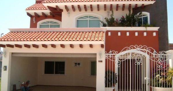 Colores para casas exterior buscar con google casas for Fachada de casas modernas con tejas