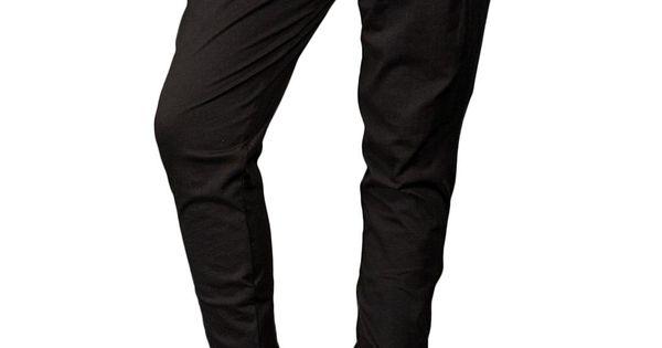 Jersey drawstring pant w/ tapered leg