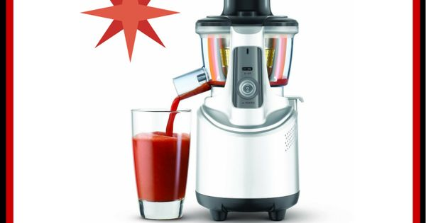 Breville Slow Masticating Juicer : Win a Breville Masticating Slow Juicer