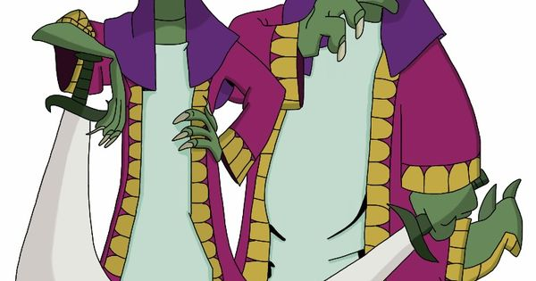 Character Design Crash Course : Komodo brothers by spartandragon on deviantart