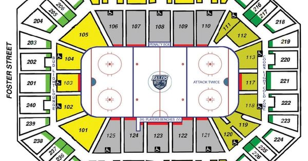 Dcu Center In 2020 Seating Charts Chart Seating