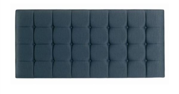 Hypnos Olivia 4 6 Double Blueberry Fabric Headboard King Size
