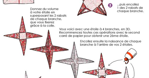 en dessin confectionnez des toiles 3d en origami pour votre d coration de no l le sapin. Black Bedroom Furniture Sets. Home Design Ideas