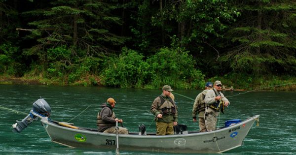 Salmon fishing cooper landing alaska where to go june for Cooper landing fishing guides