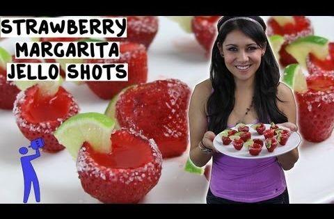 ... | Strawberry Margarita Jello Shots, Margarita Jello Shots and Str