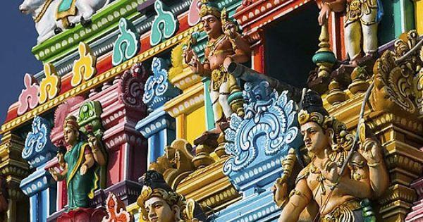 Templo Kapaleeshwarar, em Chennai, India