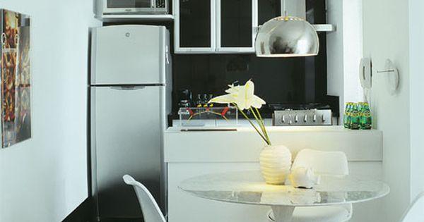 27 cozinhas americanas em apartamentos pequenos for Pisos para apartamentos pequenos