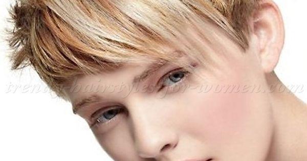 Short Hairstyles With Long Bangs Short Hair Long Fringe