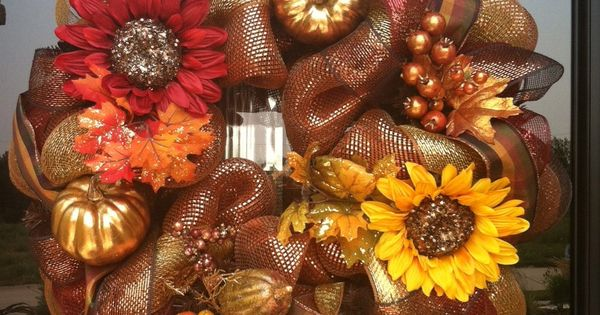 Fun Fall wreath
