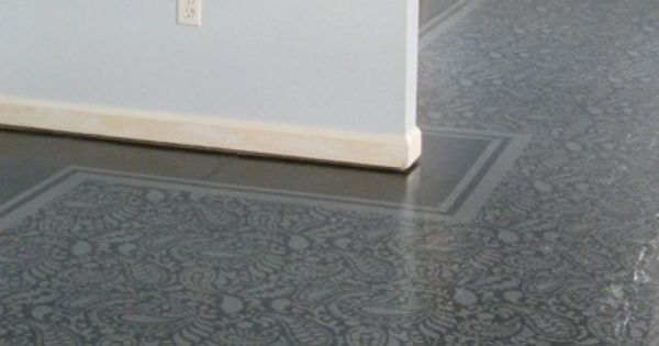 Amazing Painted Floors: A How-to from Carry @ Lovely Etc. -- She