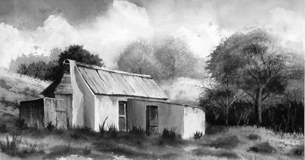 How To Paint A Monochrome Landscape In Watercolour Monochrome