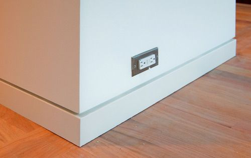 Modern Walls And My Distaste For Trim | Baseboard, Modern Wall And Modern