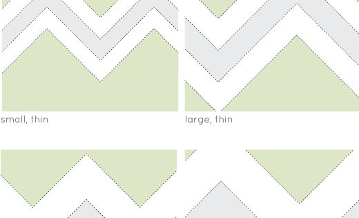 Chevron Pattern Printable Template from billie monster Retro, Free Printables template pattern
