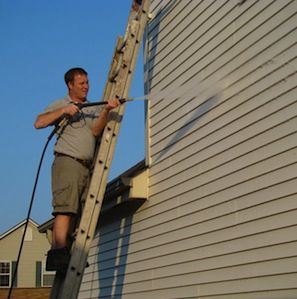 How To Clean Vinyl Siding Cleaning Vinyl Siding Vinyl Siding Clean Siding