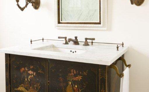Repurposed Bathroom Ideas: Repurposed As A Bathroom Vanity