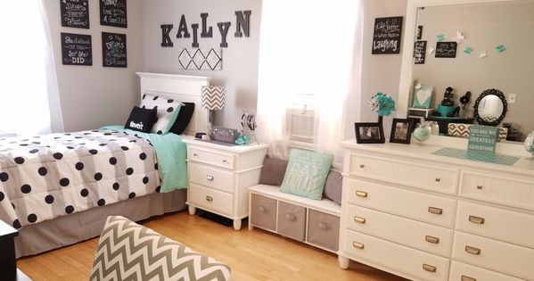 Best Grey And Teal T**N Bedroom Ideas For Girls Kids Room 400 x 300