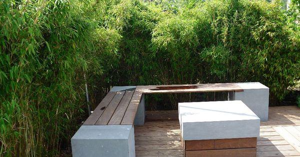 bambus garten modern decor pinterest - Moderne Garten Mit Bambus