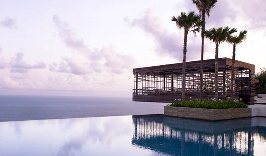 "The Alila Villas Uluwatu ""eco resort"" in Bali"