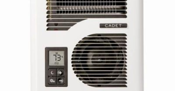 Cadet Energyplus 1600 Watt 120 240 Volt In Wall Electric Wall Heater In White Cec163tw Best Electric Garage Heater Wall Fans Electric Fan