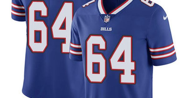 ... sale nike bills 64 richie incognito royal blue team color mens stitched  nfl vapor untouchable limited 42b715cd0