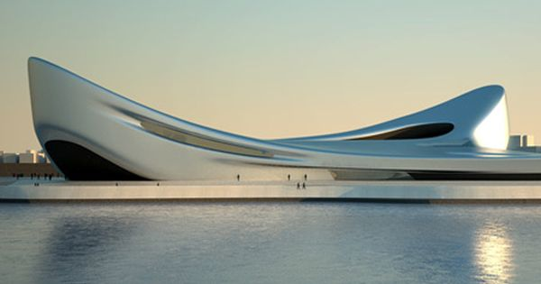 Reggio waterfront par zaha hadid architects for Piscine zaha hadid