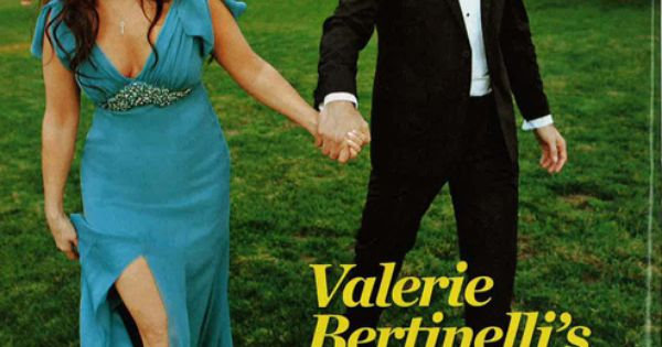 Valerie bertinelli in david meister bridal in people for Valerie bertinelli wedding dress