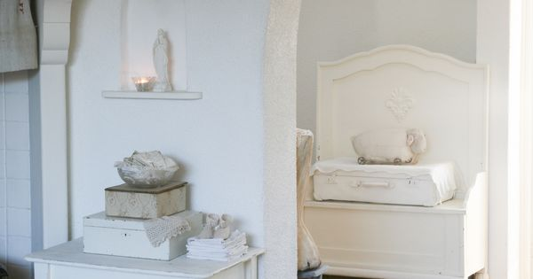 Doorkijk naar de keuken foto reportage van ons huis voor het tijdschrift shabby style 2013 - Tijdschrift chic huis ...