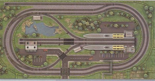 Small O Scale Layouts Layouts Small Layout Plans PDF
