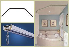 Diy Neo Angle Shower Rod.Corner Tub Shower Rod In 2019 Corner Tub Shower Corner