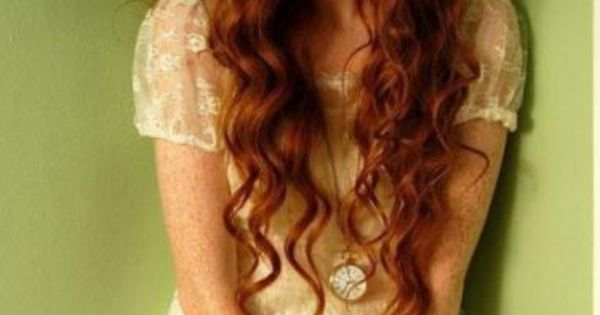 Pretty Curly Haired Redhead Weakness For Redheads