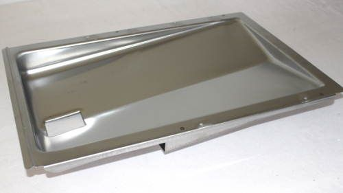Bottom Grease Tray With Side Drain Spirit 300 Series 2009 2012 Grillparts Com Bbq Repair And Replacement Parts In 2020 Stainless Steel Channel Grill Parts Weber Grill
