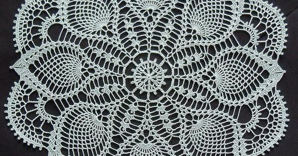 Magic Crochet Doily Free Pattern Crochet Pinterest