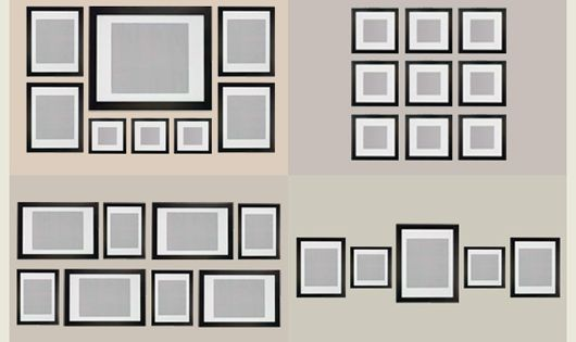 Gallery wall ideas, photo wall