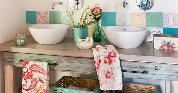 Ideias para decorar sua casa bathroom ideas pinterest for Decorar casa quinta