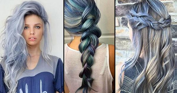 Hairstyle Trends 2017 2018 2019 How To Get The Hot Hair Color For Spring Summer 2016 Blue ...