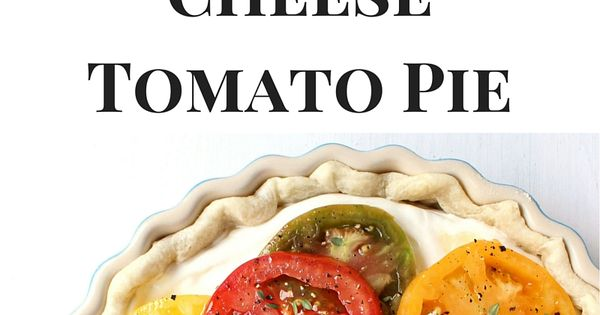 Tomato pie, Goat cheese and Goats on Pinterest