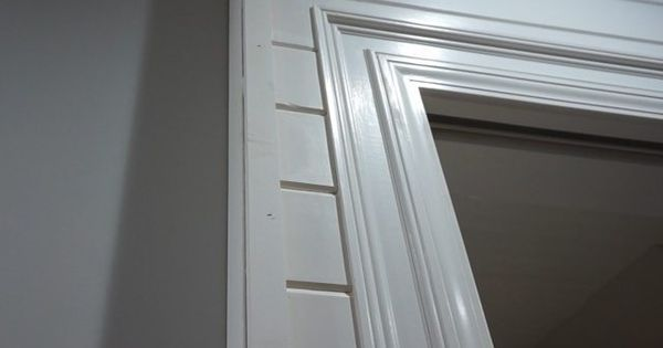 Decorative Column And Crown Moulding Day 27 Decor Sliding Doors Interior Wall Trim