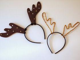 Reindeer Headband Reindeer Antlers